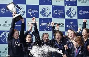 Oxford win women's boat race as Cambridge almost go under ...