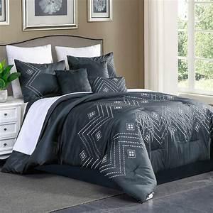 Unique, Home, Luana, 7, Piece, Collection, Comforter, Set