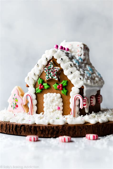 gingerbread house decorations gingerbread house recipe sally s baking addiction