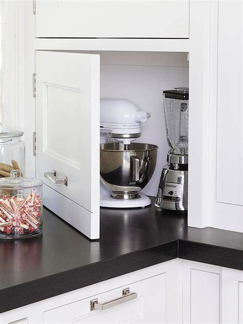 25 Tips to Get the Ultimate Kitchen   Appliance garage