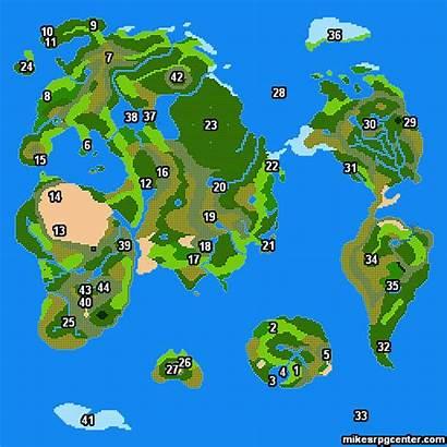 Maps Dragon Map Warrior Quest Iii Rpg
