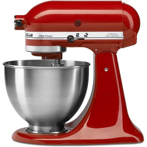 Kitchenaid Ultra Power 45 Qt Stand Mixer In Empire Red