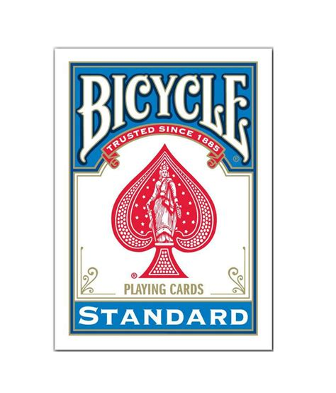 Bicycle Standard Playing Cards Deck  Blue  Buy Bicycle