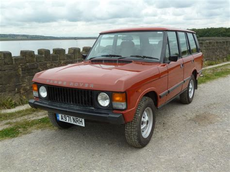 red land rover old a971 nrh 1984 range rover 4 door classic land rover centre