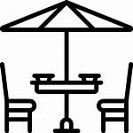 Icon Terrace Icons Furniture Flaticon