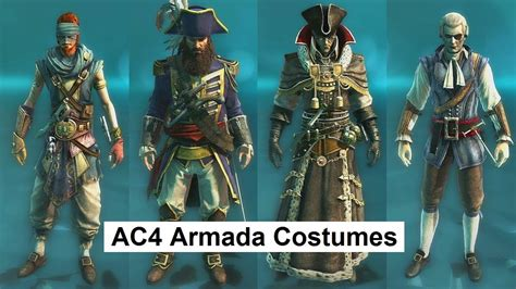 ac4 rating ac4 multiplayer armada costumes dandy buccaneer blackbeard orchid cutthroat physician jaguar