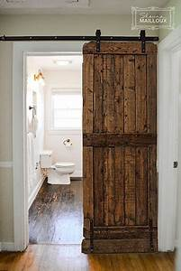 25 best sliding bathroom doors ideas on pinterest for Barnwood pocket door
