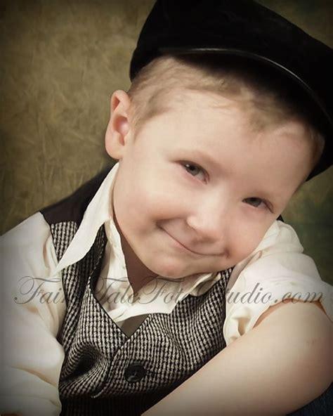 fashioned vintage style boy portrait poses photo