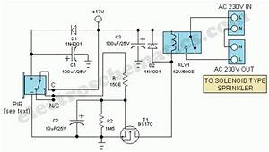 Motion Sensor Switch For Light   Alarm Or Sprinkler