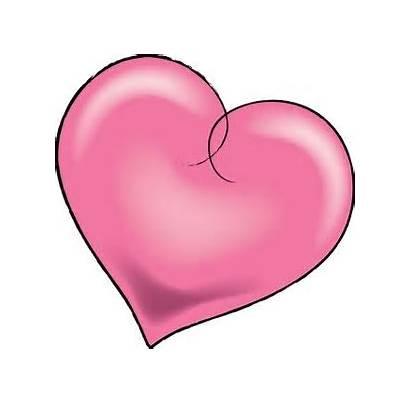 Clip Heart Pink Pretty Clipart Valentine Hearts
