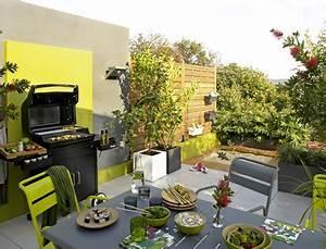 15 idees pour amenager une cuisine d39ete a l39exterieur With decorer sa terrasse exterieure pas cher 8 salon de jardin en bois plastique metal comment