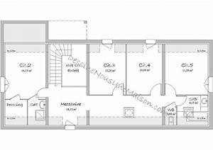 plan maison gratuit 150m2 With plan de maison 150m2