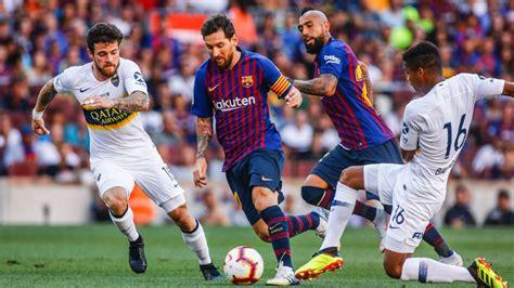 Barcelona vs. Boca Juniors - Reporte del Partido - 15 ...