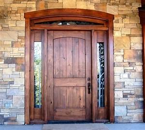 Furniture Innovative Rustic Door For Exterior Entryway