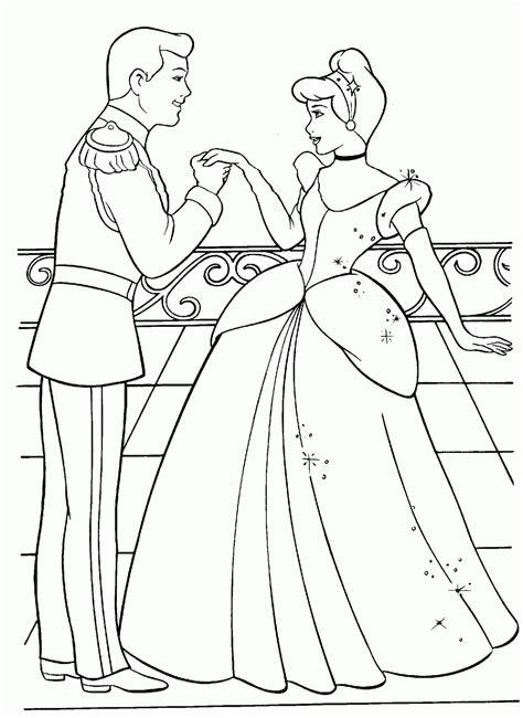 easy cinderella castle coloring coloring pages