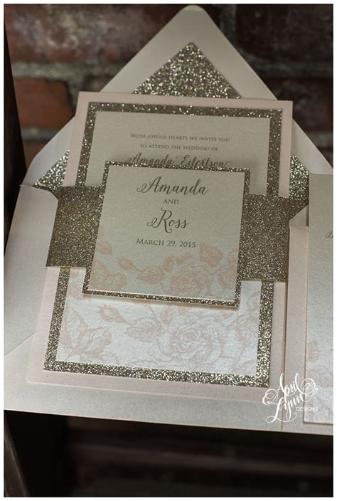 5 Ways To Use Gold on Your Custom Wedding Stationery
