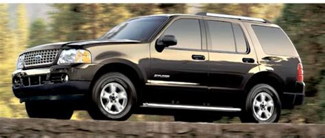 2005 Ford Explorer Technical Specifications And Data