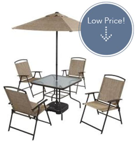 7 folding patio dining set only 95 the krazy