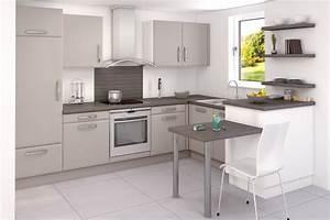 modeles de cuisine modle intuition bonnet cuisine conue With meuble ilot central cuisine 15 limplantation de cuisine en u you