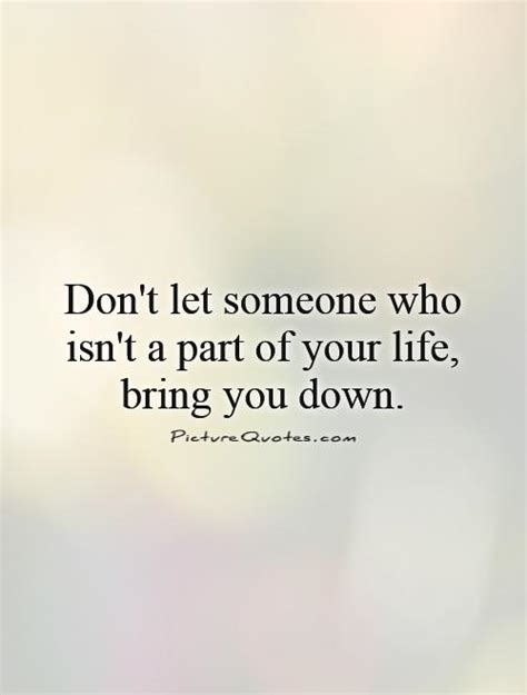 Don Let Anyone Bring You Down Quotes