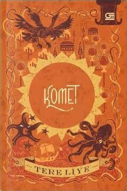 buku komet tereliye tere liye mizanstore