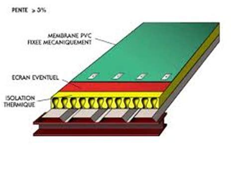 s駱aration chambre installation thermique etancheite pvc pour toiture