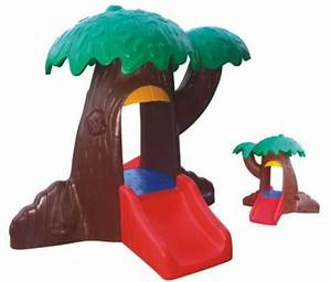Guangzhou toddlers plastic tree playhouse / little tikes ...