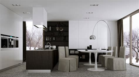 contemporary kitchen dining room designs 12 modern eat in kitchen designs 8316