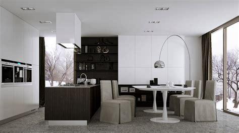 kitchen ideas 12 modern eat in kitchen designs