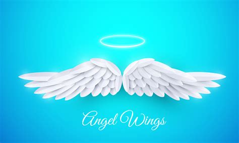 The file are suited to be used in adobe illustrator, cricut design space , inkscape, silhouette studio and corel draw. Vector 3d White Realistic Layered Paper Cut Angel Wings ...