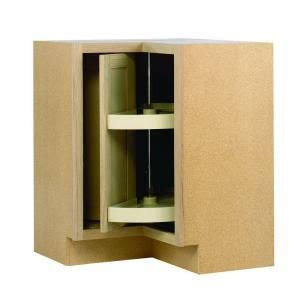 Home Depot Kitchen Cabinets Lazy Susan by 28 375x34 5x16 5 In Lazy Susan Corner Base Cabinet In