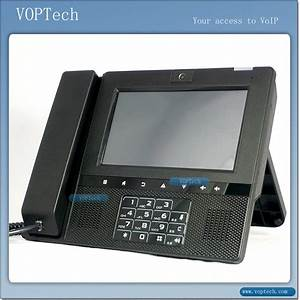 China Video Voip Sip Phone Of Voptech Support Wifi
