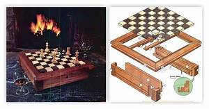 Chess Board Plans • WoodArchivist