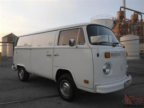 1974 volkswagen bus vw bus 1974 panel delivery 52k orig miles restored