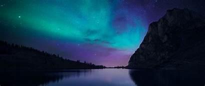 Night Nature Desktop Lake Wallpapers Backgrounds Aurorae