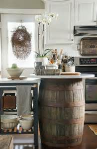 buffet kitchen island la fabrique à déco cuisine rustique chic et esprit brocante