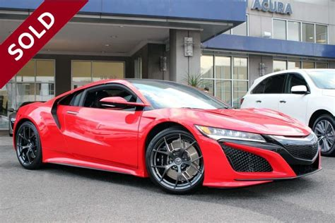 acura nsx offers