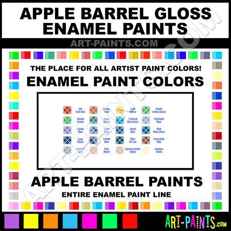apple barrel paint colors apple barrel gloss enamel paint colors apple barrel