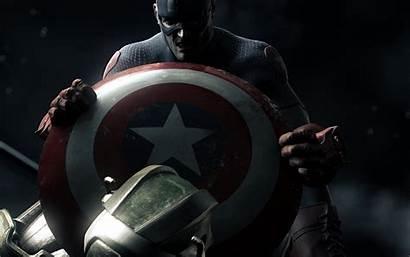 Captain America Comics Wallpapers Shield Desktop Fantasy
