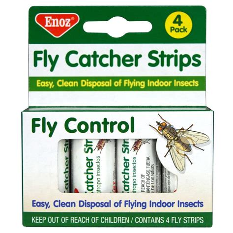 enoz fly catcher strips   fly strips  pack