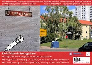 Radio Selber Machen : radiotalkbox preungesheim unterwegs radio selber machen ~ Eleganceandgraceweddings.com Haus und Dekorationen