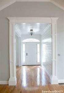 How to build decorative columns bloggers39 best diy ideas for Unique interior trim ideas