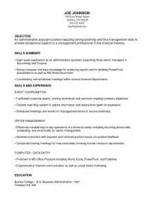 functional resume changing careers functional resume exles career change