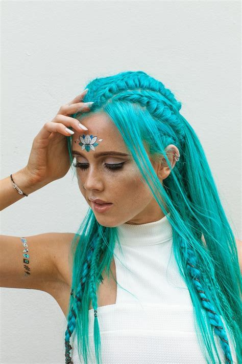 Best 25 Turquoise Hair Ideas Only On Pinterest Mint