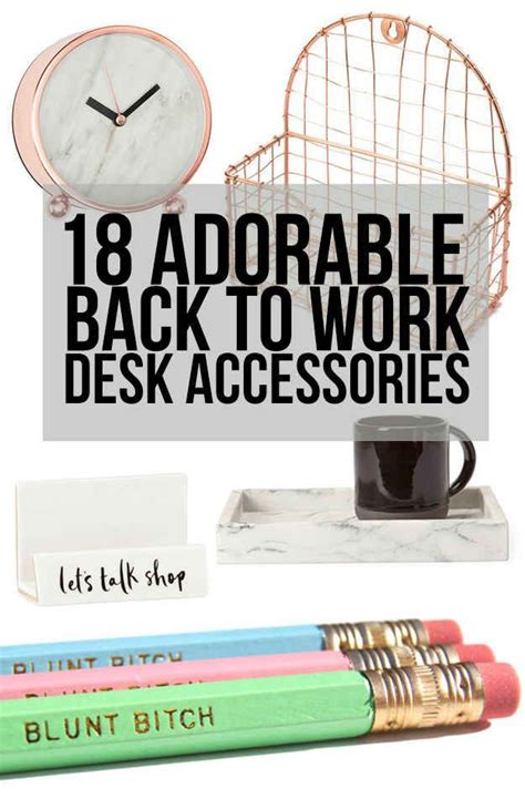 Office Supplies To Make Easier by 18 Desk Accessories That Ll Make Going Back To Work