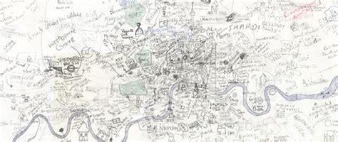 maps mania hand drawn google maps