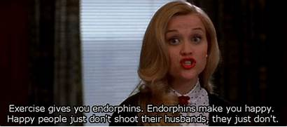 Endorphins Happy Exercise Shoot Gives Legally Blonde