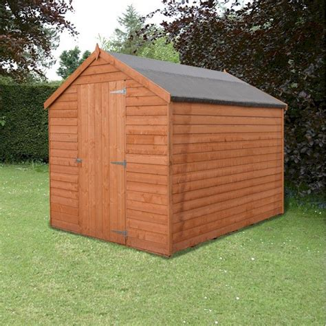 Garden Shed 8x6 Best Price by Shire Value Overlap Apex Shed 8x6 One Garden