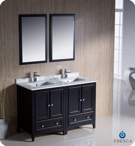 Mesa 48 Inch Sink Bathroom Vanity by Fresca Oxford 48 Quot Sink Bathroom Vanity Espresso Finish