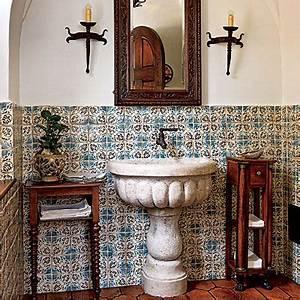 Toilette Auf Spanisch : die besten 25 spanisches badezimmer ideen auf pinterest spanisches design blaue ~ Buech-reservation.com Haus und Dekorationen